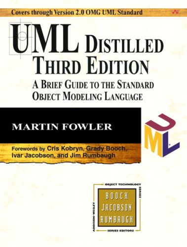 UML Distilled: A Brief Guide to the Standard Object Modeling Language (3rd Edition) / Martin Fowler