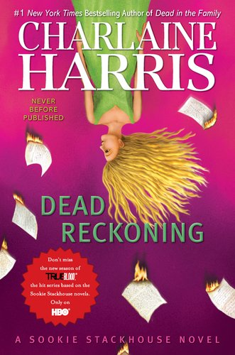 "Dead Reckoning (Sookie Stackhouse, Book 11) <g:plusone href=""http://www.books-by-isbn.com/0-441/0441020313-Dead-Reckoning-Sookie-Stackhouse-Book-11-0-441-02031-3.html"" count=""false""></g:plusone> / Charlaine Harris"