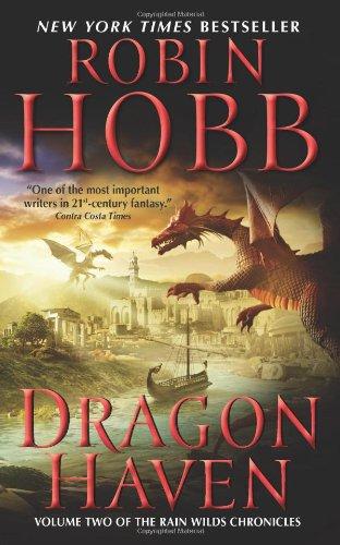 "Dragon Haven (Rain Wilds Chronicles, Vol. 2) <g:plusone href=""http://www.books-by-isbn.com/0-06/0061931551-Dragon-Haven-Volume-Two-of-the-Rain-Wilds-Chronicles-0-06-193155-1.html"" count=""false""></g:plusone> - Robin Hobb"