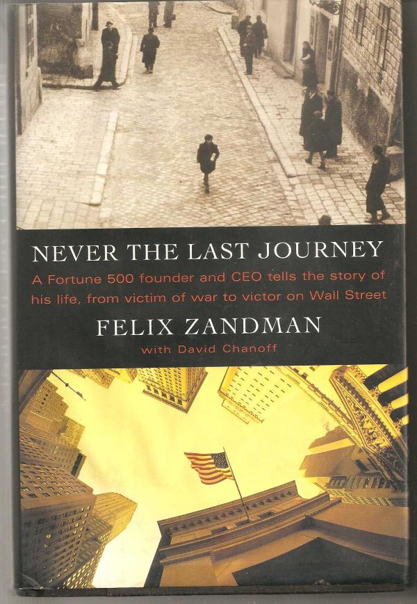 Never The Last Journey - Felix Zandman