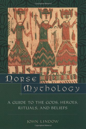 "Norse Mythology: A Guide to the Gods, Heroes, Rituals and Beliefs <g:plusone href=""http://www.books-by-isbn.com/0-19/0195153820-Norse-Mythology-A-Guide-to-the-Gods-Heroes-Rituals-and-Beliefs-0-19-515382-0.html"" count=""false""></g:plusone> / John Lindow"