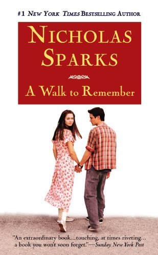 "A Walk to Remember <g:plusone href=""http://www.books-by-isbn.com/0-446/0446608955-A-Walk-to-Remember-Nicholas-Sparks-0-446-60895-5.html"" count=""false""></g:plusone> - Nicholas Sparks"