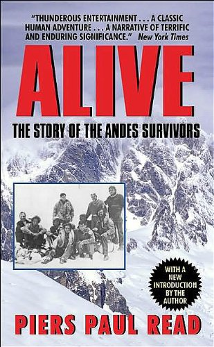"Alive: The Story of the Andes Survivors <g:plusone href=""http://www.books-by-isbn.com/0-380/038000321X-Alive-The-Story-of-the-Andes-Survivors-Avon-Nonfiction-0-380-00321-X.html"" count=""false""></g:plusone> / Piers Paul Read"