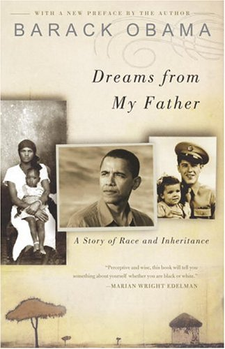 "Dreams from My Father: A Story of Race and Inheritance <g:plusone href=""http://www.books-by-isbn.com/1-4000/1400082773-Dreams-from-My-Father-A-Story-of-Race-and-Inheritance-1-4000-8277-3.html"" count=""false""></g:plusone> / Barack Obama"