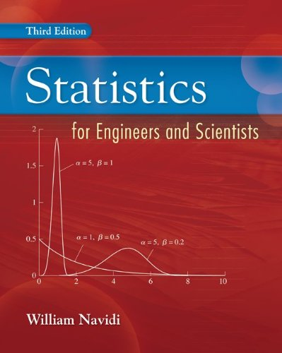 "Statistics for Engineers and Scientists <g:plusone href=""http://www.books-by-isbn.com/0-07/0073376337-Statistics-for-Engineers-and-Scientists-0-07-337633-7.html"" count=""false""></g:plusone> / William Navidi"