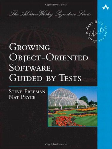 "Growing Object-Oriented Software, Guided by Tests <g:plusone href=""http://www.books-by-isbn.com/0-321/0321503627-Mock-Objects-and-Test-Driven-Development-Beck-Signature-Series-0-321-50362-7.html"" count=""false""></g:plusone> / Steve Freeman"