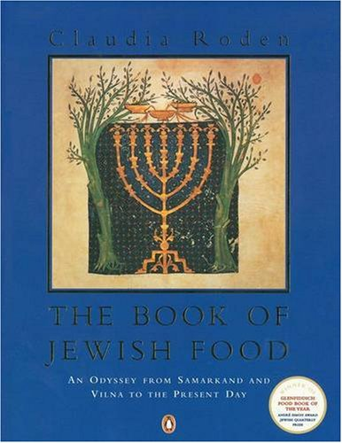 "The Book of Jewish Food: An Odyssey from Samarkand and Vilna to the Present Day <g:plusone href=""http://www.books-by-isbn.com/0-14/0140466096-The-Book-of-Jewish-Food-An-Odyssey-from-Samarkand-and-Vilna-to-the-Present-Day-0-14-046609-6.html"" count=""fa / Claudia Roden"