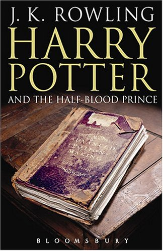 "Harry Potter and the Half-blood Prince: Adult Edition (Harry Potter 6) <g:plusone href=""http://www.books-by-isbn.com/0-7475/074758110X-Harry-Potter-and-the-Half-blood-Prince-J.K.-Rowling-0-7475-8110-X.html"" count=""false""></g:plusone> - J. K. Rowling"