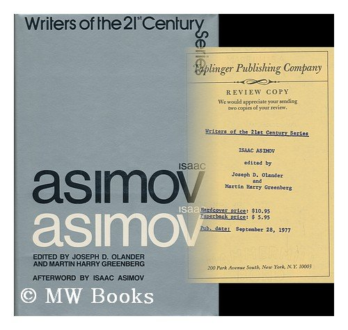 "Isaac Asimov (Writers of the 21st Century) <g:plusone href=""http://www.books-by-isbn.com/0-8008/080084257X-Isaac-Asimov-Writers-of-the-21st-Century-0-8008-4257-X.html"" count=""false""></g:plusone> / Joseph D. Olander"