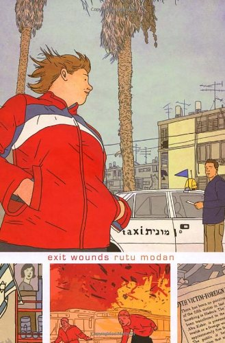 "Exit Wounds <g:plusone href=""http://www.books-by-isbn.com/0-224/0224081667-Exit-Wounds-Rutu-Modan-0-224-08166-7.html"" count=""false""></g:plusone> - Rutu Modan"