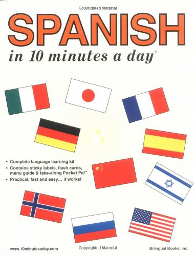 "Spanish in 10 Minutes a Day® <g:plusone href=""http://www.books-by-isbn.com/0-944502/0944502598-Spanish-in-10-Minutes-a-Day-Kristine-K.-Kershul-0-944502-59-8.html"" count=""false""></g:plusone> / Kristine K. Kershul"