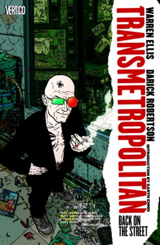 "Transmetropolitan Vol. 01: Back on the Street (Transmetropolitan - Revised) <g:plusone href=""http://www.books-by-isbn.com/1-4012/1401220843-Transmetropolitan-Vol.-01-Back-on-the-Street-1-4012-2084-3.html"" count=""false""></g:plusone> / Warren Ellis"