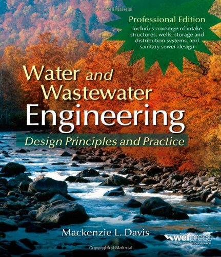 "Water and Wastewater Engineering <g:plusone href=""http://www.books-by-isbn.com/0-07/0071713840-Water-and-Wastewater-Engineering-Mackenzie-Davis-0-07-171384-0.html"" count=""false""></g:plusone> / Mackenzie Davis"