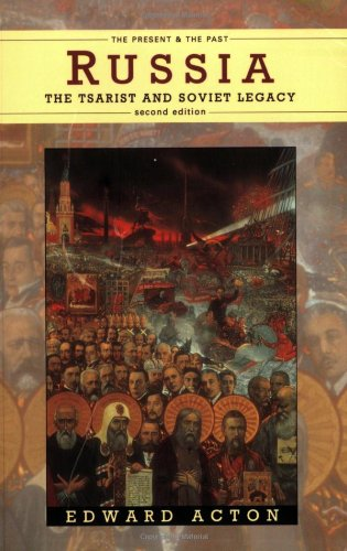 "Russia: The Tsarist and Soviet Legacy (2nd Edition) <g:plusone href=""http://www.books-by-isbn.com/0-582/0582089220-Russia-The-Tsarist-and-Soviet-Legacy-2nd-Edition-0-582-08922-0.html"" count=""false""></g:plusone> / Edward Acton"