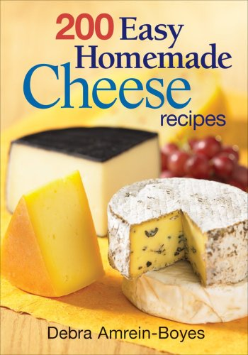 "200 Easy Homemade Cheese Recipes: From Cheddar and Brie to Butter and Yogurt <g:plusone href=""http://www.books-by-isbn.com/0-7788/0778802183-200-Easy-Homemade-Cheese-Recipes-From-Cheddar-and-Brie-to-Butter-and-Yogurt-0-7788-0218-3.html"" count=""false"" /"