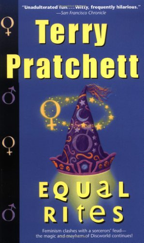 "Equal Rites <g:plusone href=""http://www.books-by-isbn.com/0-06/0061020699-Equal-Rites-Discworld-Novels-Paperback-0-06-102069-9.html"" count=""false""></g:plusone> / Terry Pratchett"