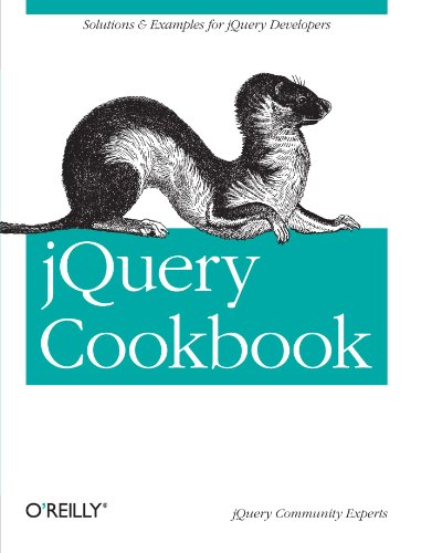 "jQuery Cookbook: Solutions & Examples for jQuery Developers (Animal Guide) <g:plusone href=""http://www.books-by-isbn.com/0-596/0596159773-jQuery-Cookbook-Animal-Guide-Lindley-Cody-0-596-15977-3.html"" count=""false""></g:plusone> / Cody Lindley"
