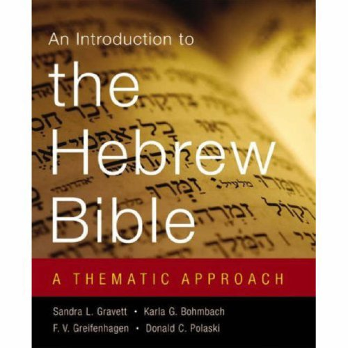 "An Introduction to the Hebrew Bible: A Thematic Approach <g:plusone href=""http://www.books-by-isbn.com/0-664/066423030X-An-Introduction-to-the-Hebrew-Bible-A-Thematic-Approach-0-664-23030-X.html"" count=""false""></g:plusone> / Sandra L. Gravett"