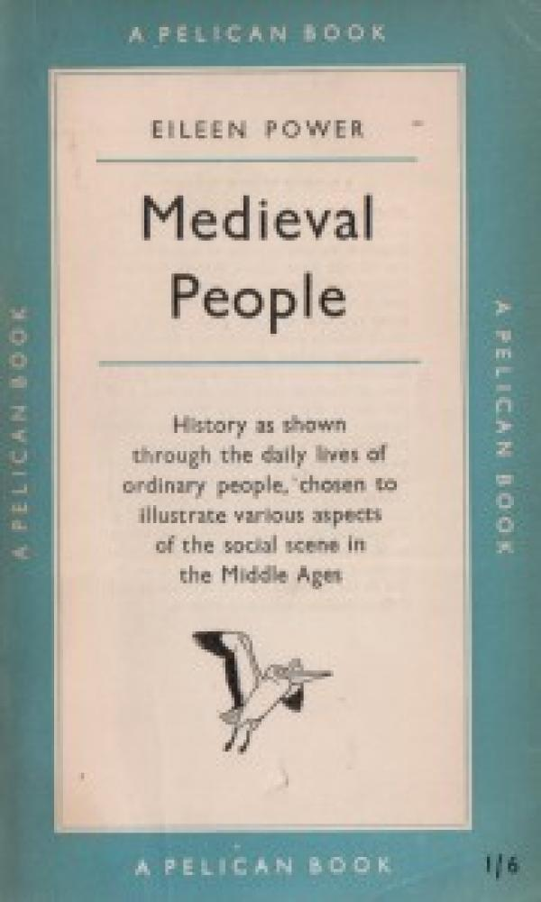 Medieval People - with eight illustrations / Eileen Power