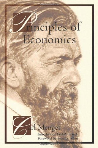 "Principles of Economics - Pocket Edition <g:plusone href=""http://www.books-by-isbn.com/1-61016/1610162021-Principles-of-Economics-Pocket-Edition-1-61016-202-1.html"" count=""false""></g:plusone> / Carl Menger"