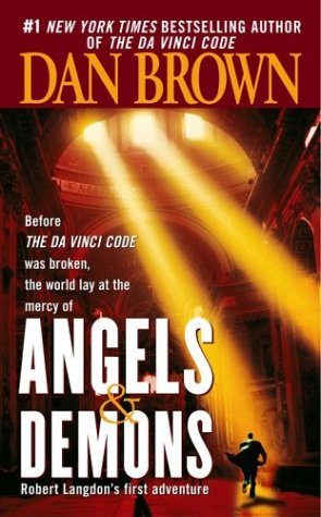 "Angels & Demons <g:plusone href=""http://www.books-by-isbn.com/0-671/0671027360-Angels-amp-Demons-Dan-Brown-0-671-02736-0.html"" count=""false""></g:plusone> - Dan Brown"