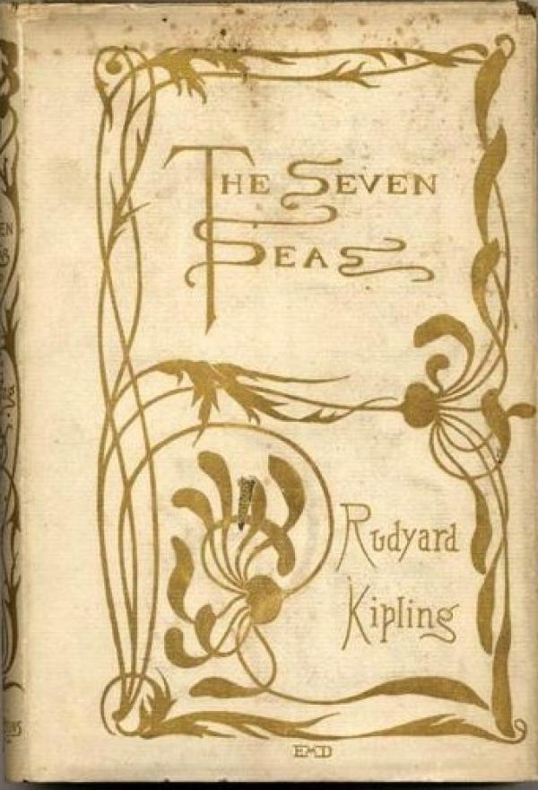 [The Seven Seas [1896 - First Edition / Rudyard Kipling