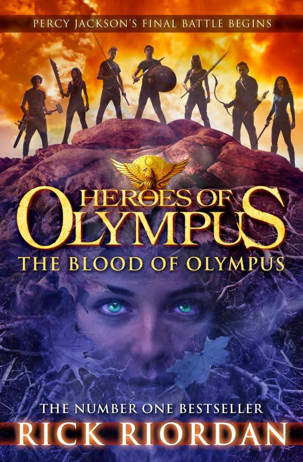 The Blood of Olympus- Book Five -  The Heroes of Olympus - The Blood of Olympus 	 #5 - Rick Riordan