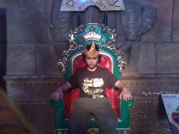 המלך בן 15 מערד