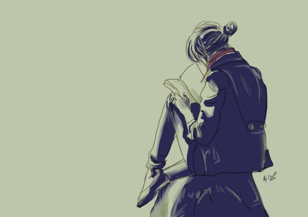 אבודה בעולם של ספרים