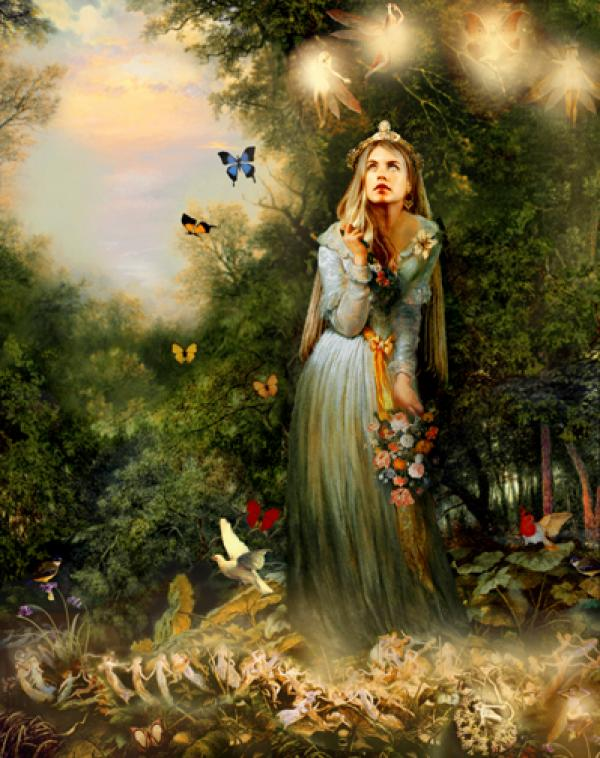 הנסיכה הקסומה