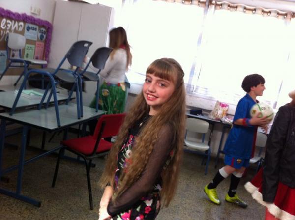 ניקולי בת 16 מאשקלון