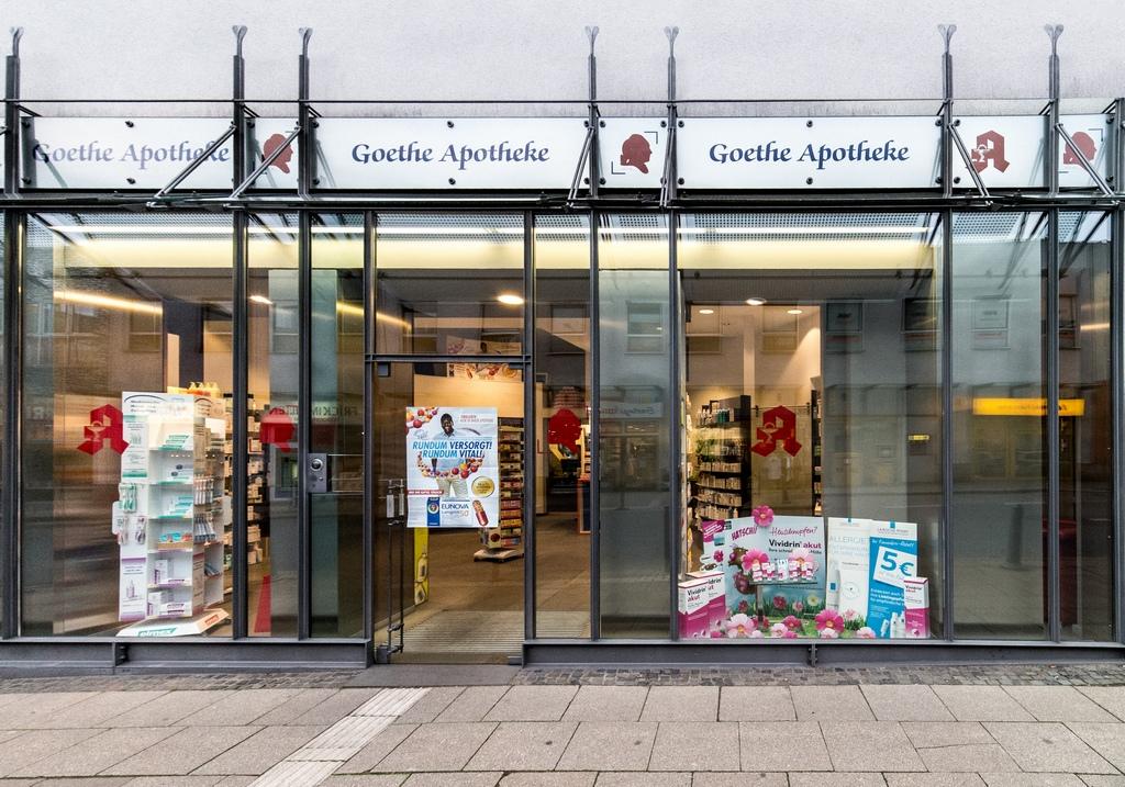 Goethe Apotheke Dr. Felix Blasshofer, Hauptstr. in Essen
