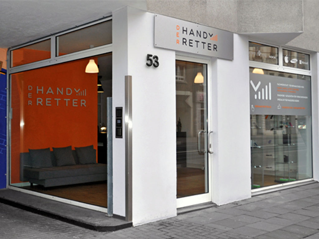 Der HandyRetter, Luxemburger Straße in Köln