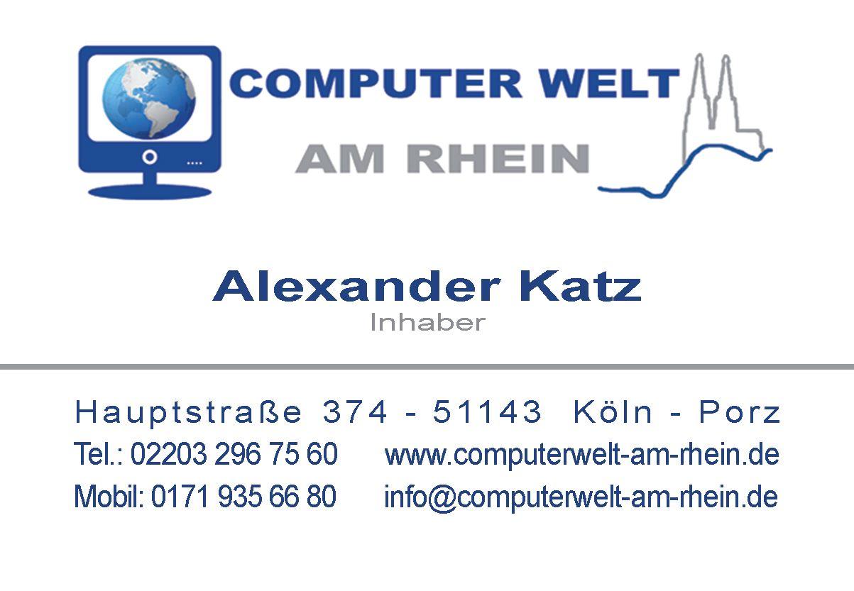 ComputerWelt am Rhein, Hauptstraße in Köln
