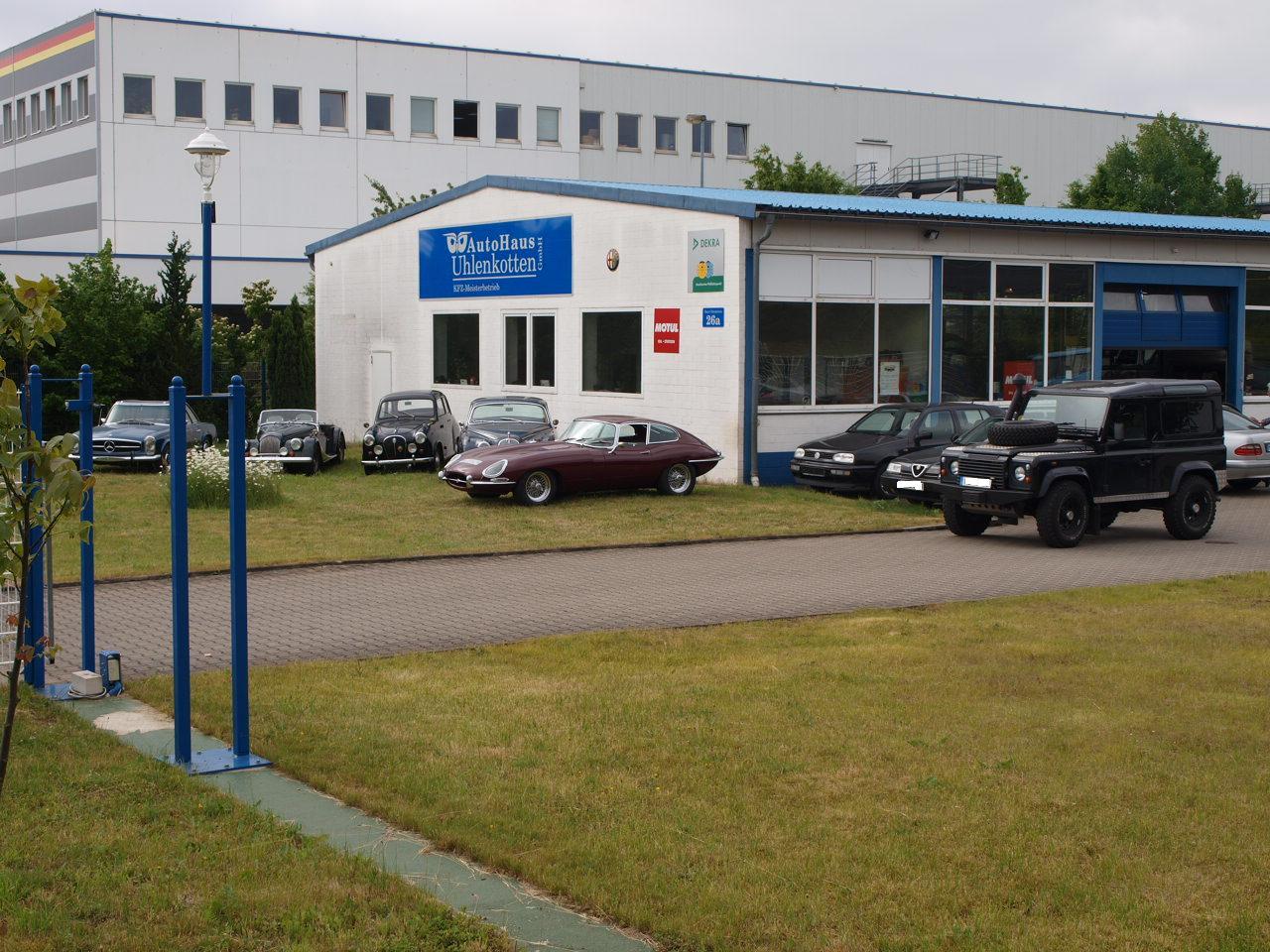 AutoHaus Uhlenkotten GmbH, Haus Uhlenkotten in Münster