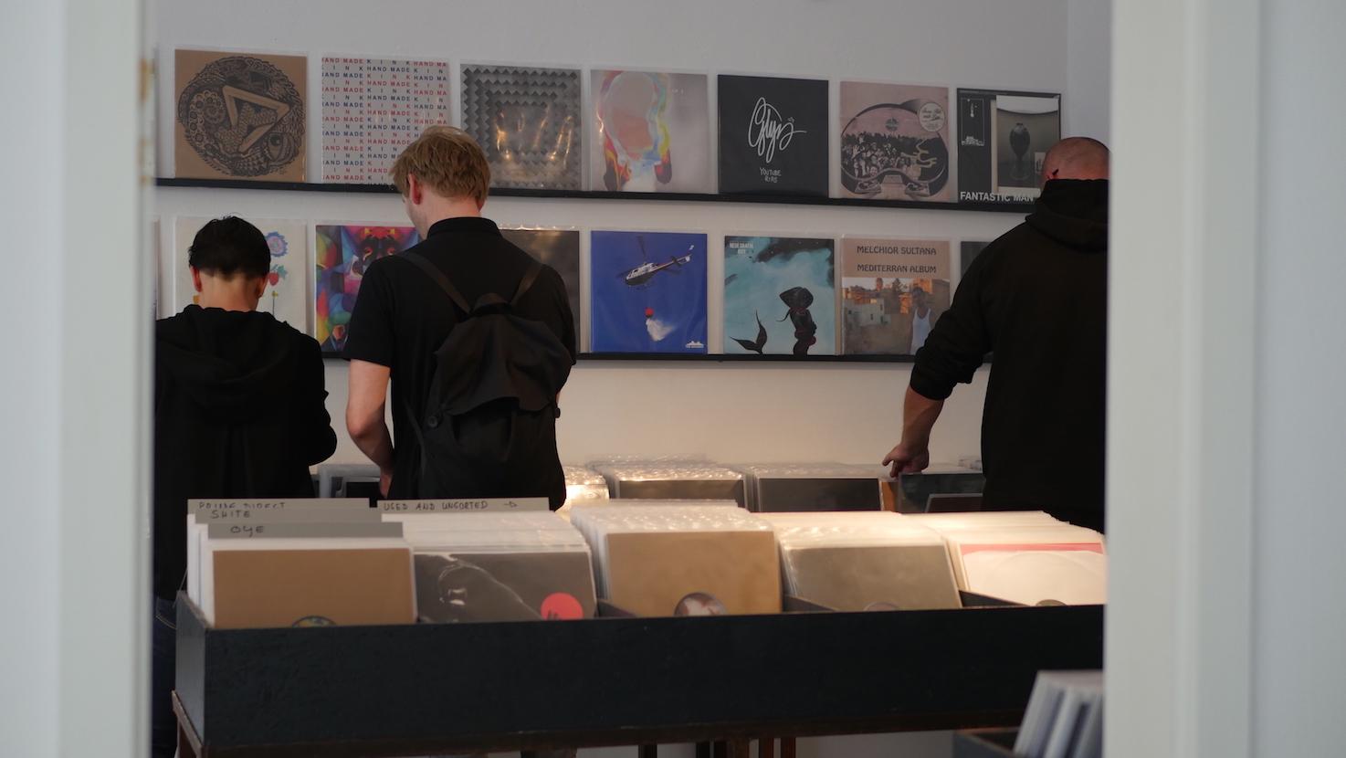 Fundus Record Store, Bilker Allee in Düsseldorf