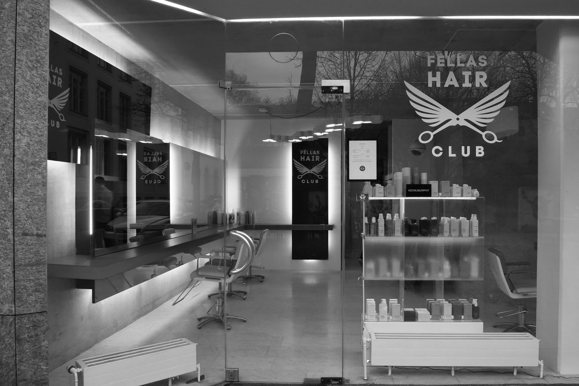 Fellas Hair Club, Klenzestraße in München