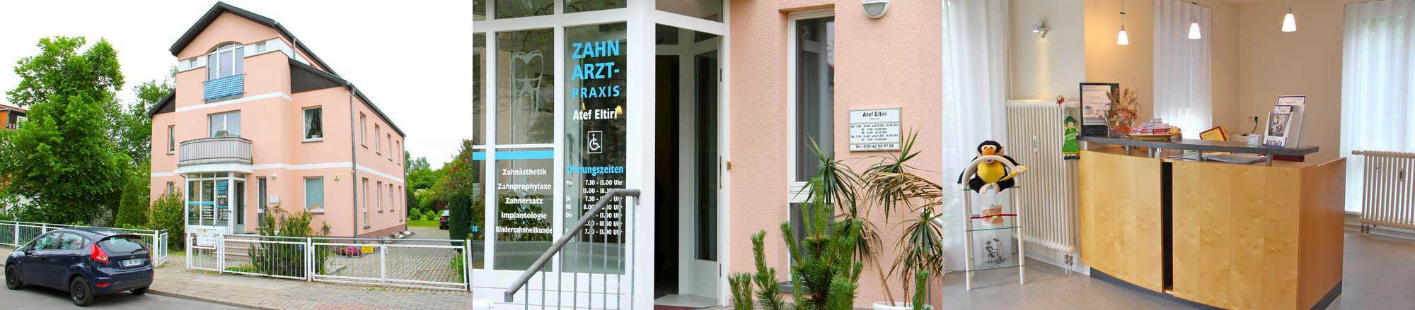 Zahnarztpraxis Eltiri, Bernulfstraße in Berlin