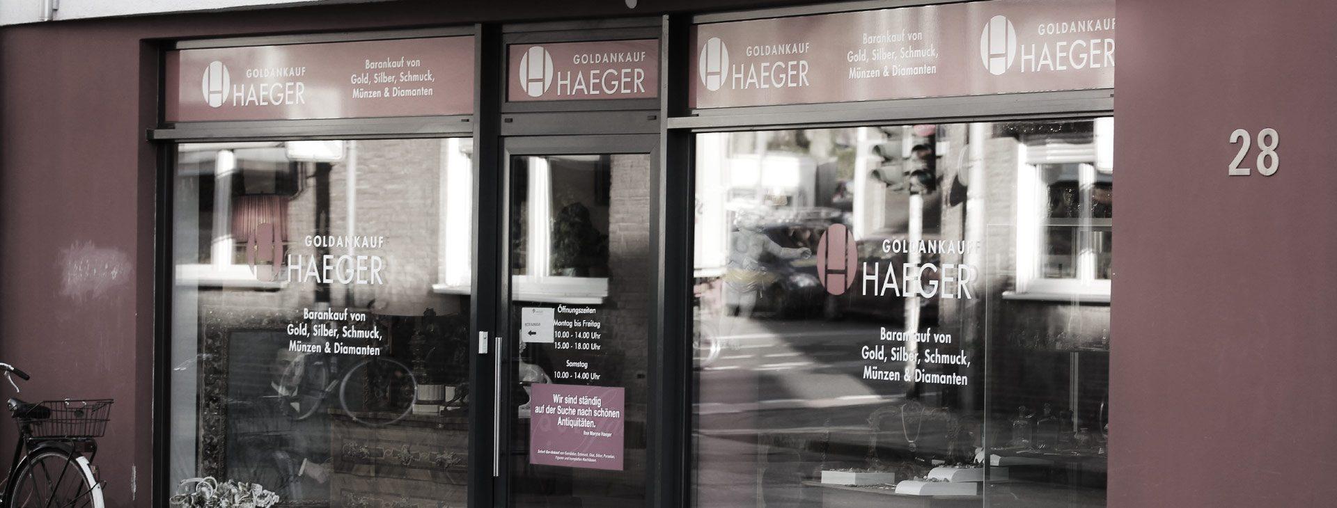 Haeger GmbH  - Goldankauf Aachen, Neupforte in Aachen