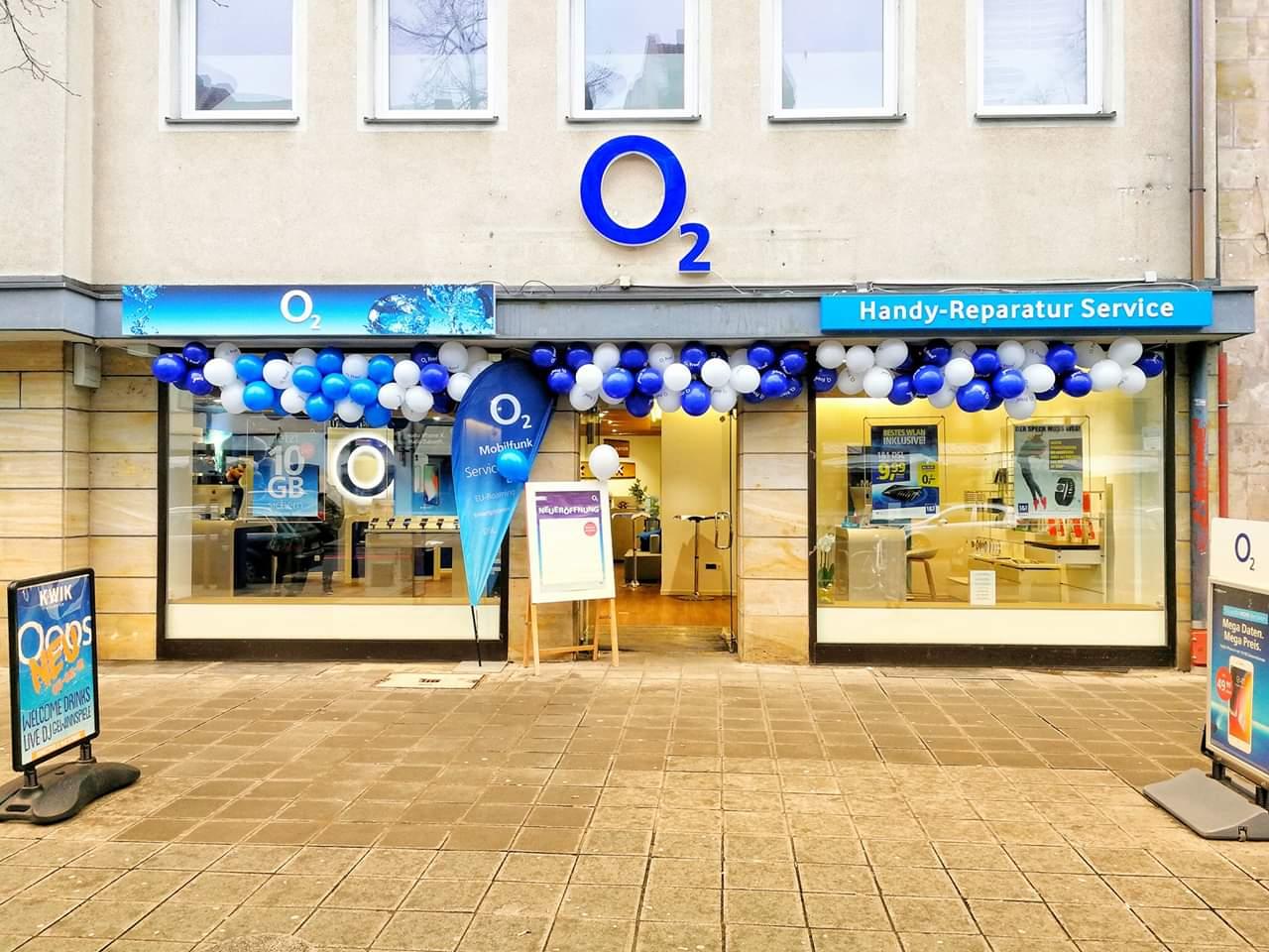 o2 Store, Ludwigstraße in Nürnberg