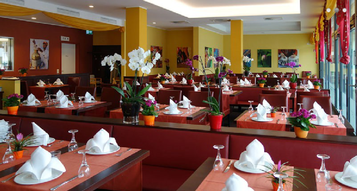 Restaurant Sangam, Werner-Schlierf-Straße in München