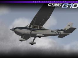 Carenado CT182T X Plane