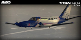 Alabeo C404 Titan X-Plane