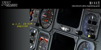 IXEG Boeing 737-300