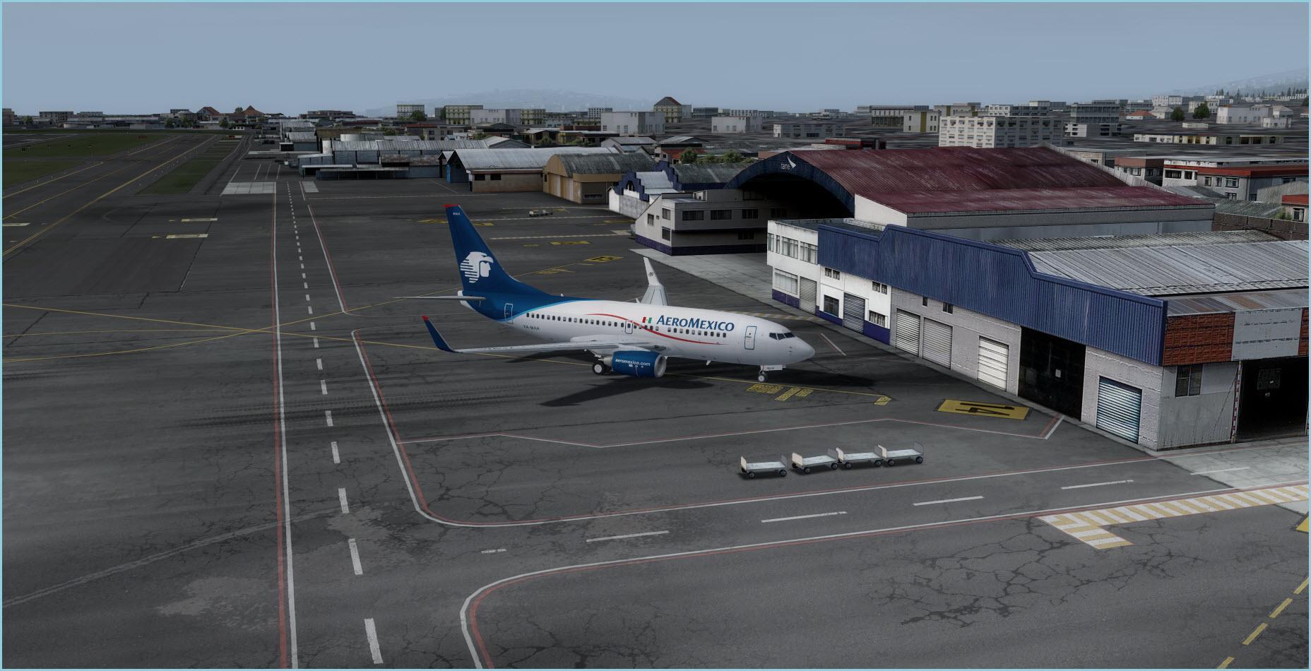 Approaching Quito Apron