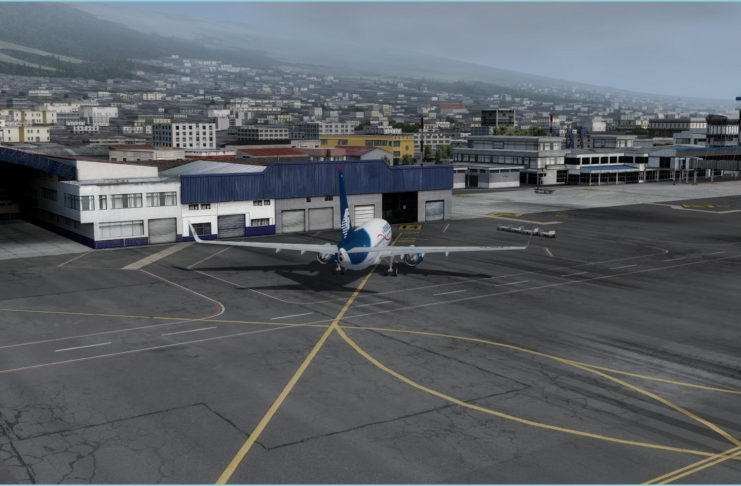 Approaching Quito Apron