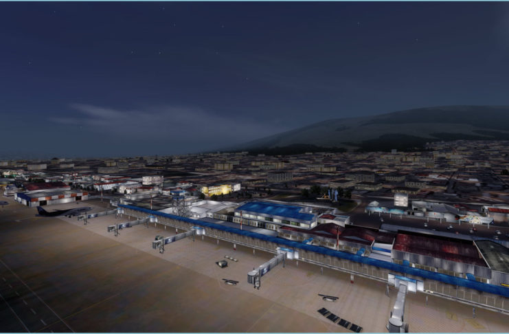 Approaching Quito Night