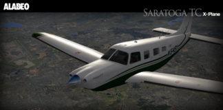 Alabeo PA32 Saratoga X-Plane