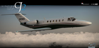 Carenado Citation CJ2