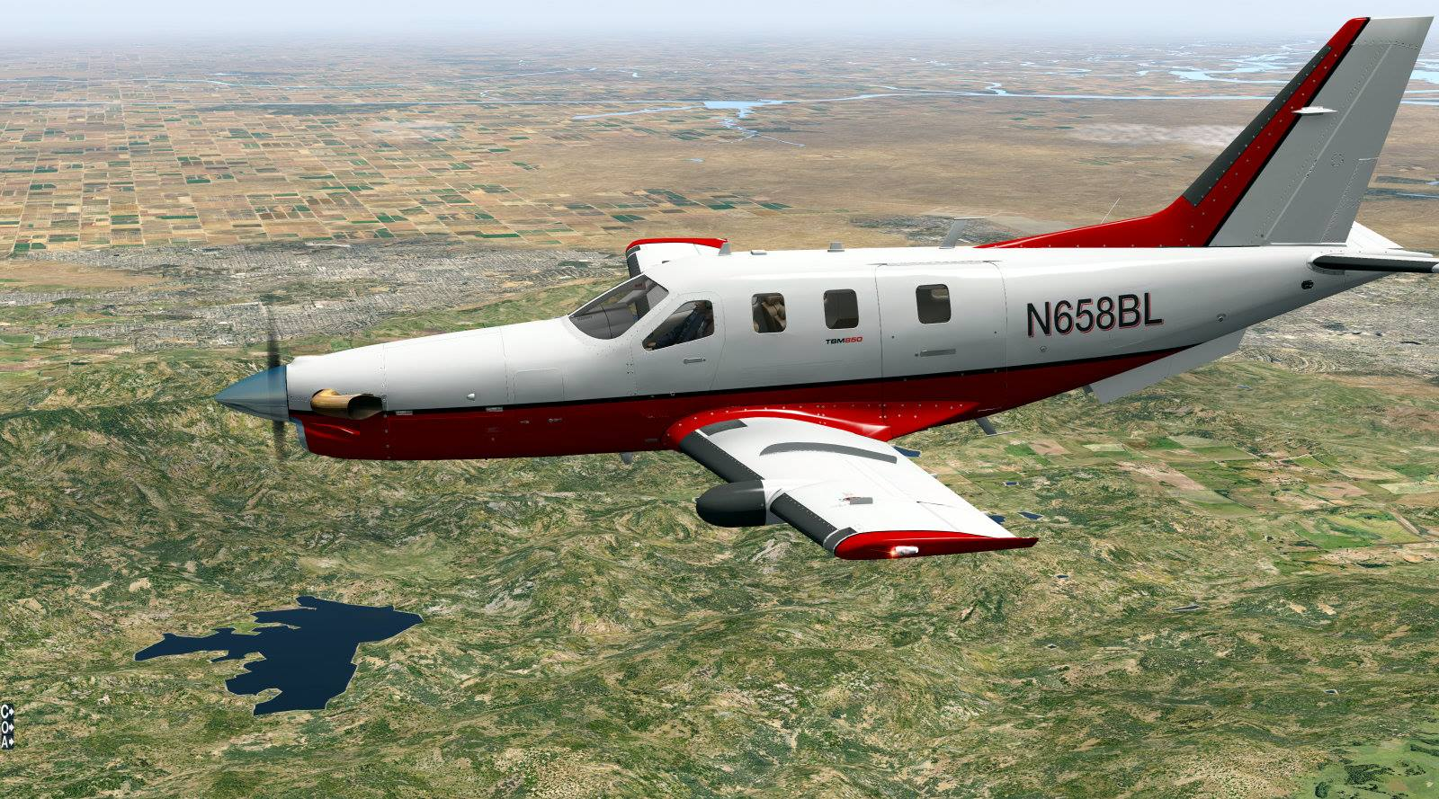 Carenado TBM-850